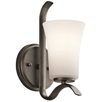 Kichler Armida 1 Light Wall Bracket in Olde Bronze 45374OZFL