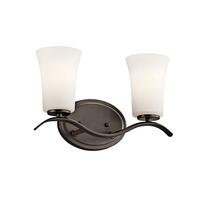 Kichler 45375OZL18 Armida LED 14 inch Olde Bronze Vanity Light Wall Light