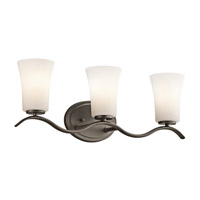 Kichler Armida 3 Light Wall Mt Bath 3 Arm in Olde Bronze 45376OZFL