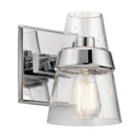 Kichler 45395CH Reese 1 Light 6 inch Chrome Wall Bracket Wall Light