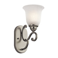 Kichler 45421NI Camerena 1 Light 6 inch Brushed Nickel Wall Bracket Wall Light photo thumbnail