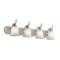 Camerena 4 Light 36 inch Brushed Nickel Bath Wall Wall Light