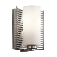 Kichler Lighting Selene 1 Light Wall Bracket in Brushed Nickel 45431NI photo thumbnail