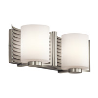 Kichler Lighting Selene 2 Light Bath Wall in Brushed Nickel 45432NI photo thumbnail