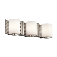 Kichler Lighting Selene 3 Light Bath Wall in Brushed Nickel 45433NI photo thumbnail