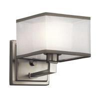 Kichler Kailey 1 Light Wall Bracket in Brushed Nickel 45437NI
