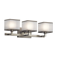 Kichler Kailey 3 Light Wall Mt Bath 3 Arm in Brushed Nickel 45439NI