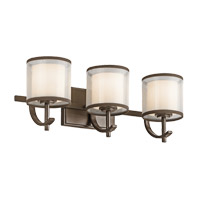Tallie 3 Light 21 inch Mission Bronze Vanity Light Wall Light