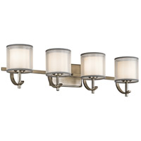 Tallie 4 Light 29 inch Antique Pewter Vanity Light Wall Light