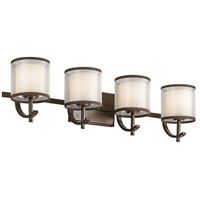 Tallie 4 Light 29 inch Mission Bronze Vanity Light Wall Light