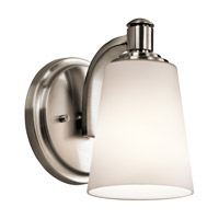 Kichler Quincy 1 Light Wall Bracket in Classic Pewter 45453CLP photo thumbnail