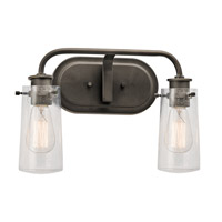 Olde Bronze Braelyn Bathroom Vanity Lights