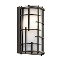 Kichler Tremba 1 Light Wall Sconce in Olde Bronze 45469OZ photo thumbnail