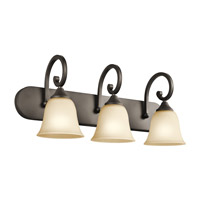 Kichler Lighting Builder Feville 3 Light Bath Vanity in Olde Bronze 45475OZ