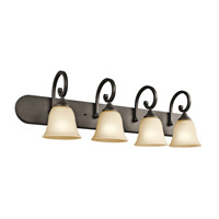 Kichler Lighting Builder Feville 4 Light Bath Vanity in Olde Bronze 45476OZ photo thumbnail