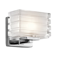 Kichler 45477CH Bazely 1 Light 6 inch Chrome Wall Bracket Wall Light