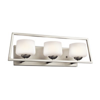 Kichler Kalel 3 Light Bath Bracket in Brushed Nickel 45483NI