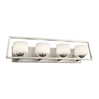 Kichler Kalel 4 Light Bath Bracket in Brushed Nickel 45484NI