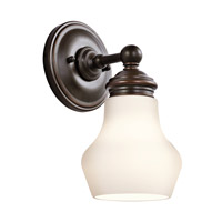 Kichler 45486ORZ Currituck 1 Light 5 inch Oil Rubbed Bronze Wall Bracket Wall Light