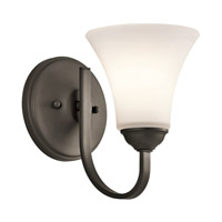 Kichler 45504OZ Keiran 1 Light 6 inch Olde Bronze Wall Sconce Wall Light in Standard