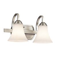 Keiran LED 14 inch Brushed Nickel Vanity Light Wall Light
