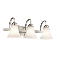 Keiran LED 22 inch Brushed Nickel Vanity Light Wall Light
