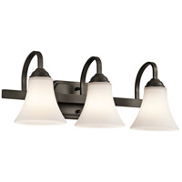 Kichler 45513OZ Keiran 3 Light 22 inch Olde Bronze Bath Bracket Wall Light