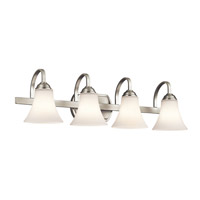 Keiran LED 30 inch Brushed Nickel Vanity Light Wall Light