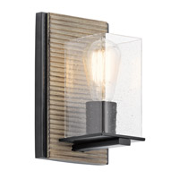 Kichler 45542DAG Millwright 1 Light 6 inch Distressed Antique Gray Wall Sconce Wall Light