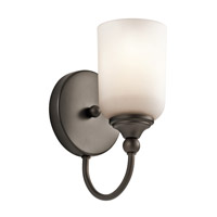 Kichler 45550OZ Lilah 1 Light 5 inch Olde Bronze Wall Bracket Wall Light