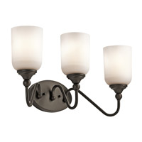 Kichler Lilah 3 Light Bath Vanity in Olde Bronze 45552OZ