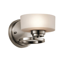 Kichler Aleeka 1 Light Wall Bracket in Classic Pewter 45564CLP photo thumbnail