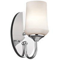 Kichler Aubrey 1 Light Wall Sconce in Chrome 45568CH
