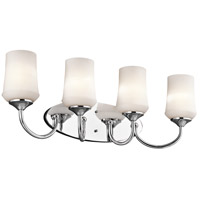 Kichler 45571CH Aubrey 4 Light 29 inch Chrome Bath Vanity Wall Light