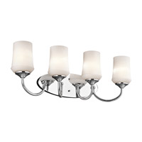 Kichler 45571CHL16 Aubrey LED 29 inch Chrome Vanity Light Wall Light