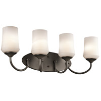 Kichler 45571OZ Aubrey 4 Light 29 inch Olde Bronze Bath Vanity Wall Light