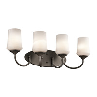 Kichler 45571OZL16 Aubrey LED 29 inch Olde Bronze Vanity Light Wall Light