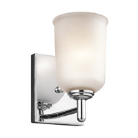 Kichler 45572CH Shailene 1 Light 5 inch Chrome Wall Bracket Wall Light