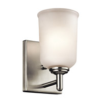 Kichler Shailene 1 Light Wall Bracket in Brushed Nickel 45572NI