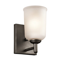 Kichler 45572OZ Shailene 1 Light 5 inch Olde Bronze Wall Bracket Wall Light