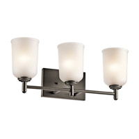 Shailene 3 Light 21 inch Olde Bronze Bath Vanity Wall Light