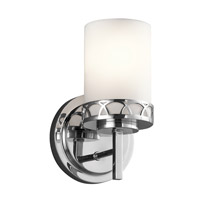 Marlowe 1 Light 6 inch Chrome Wall Bracket Wall Light in Standard