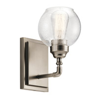 Kichler 45590AP Niles 1 Light 6 inch Antique Pewter Wall Bracket Wall Light