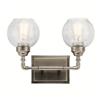Kichler Steel Niles Bathroom Vanity Lights