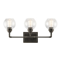 Niles 3 Light 24 inch Olde Bronze Vanity Light Wall Light