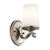 Kichler 45595AP Versailles 1 Light 5 inch Antique Pewter Wall Bracket Wall Light