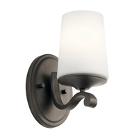 Kichler 45595OZ Versailles 1 Light 5 inch Olde Bronze Wall Bracket Wall Light