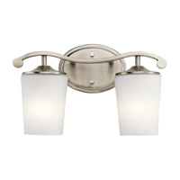 Kichler 45596AP Versailles 2 Light 15 inch Antique Pewter Vanity Light Wall Light