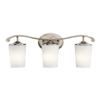 Kichler 45597AP Versailles 3 Light 23 inch Antique Pewter Vanity Light Wall Light
