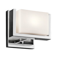 Keo 1 Light 7 inch Chrome Wall Sconce Wall Light